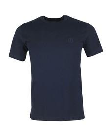 Belstaff Mens Blue Chest Logo T Shirt
