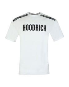 Hoodrich Mens White Tape T-Shirt
