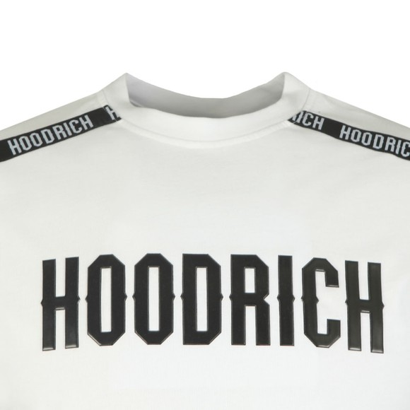 Hoodrich Mens White Tape T-Shirt main image