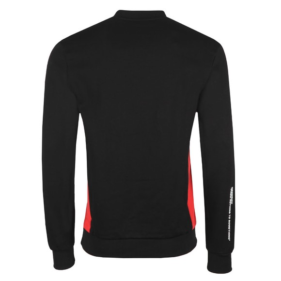 Hoodrich Mens Black Hood Tech Sweatshirt main image