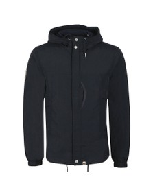 Pretty Green Mens Blue Zip Through Nylon Jacket