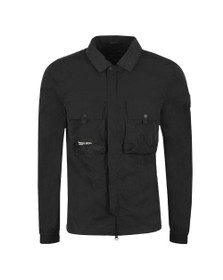 Marshall Artist Mens Black Molecular Overshirt