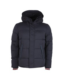 Tommy Hilfiger Mens Blue Stretch Nylon Jacket