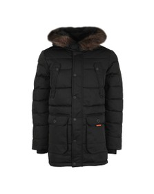 Superdry Mens Black Chinook Parka
