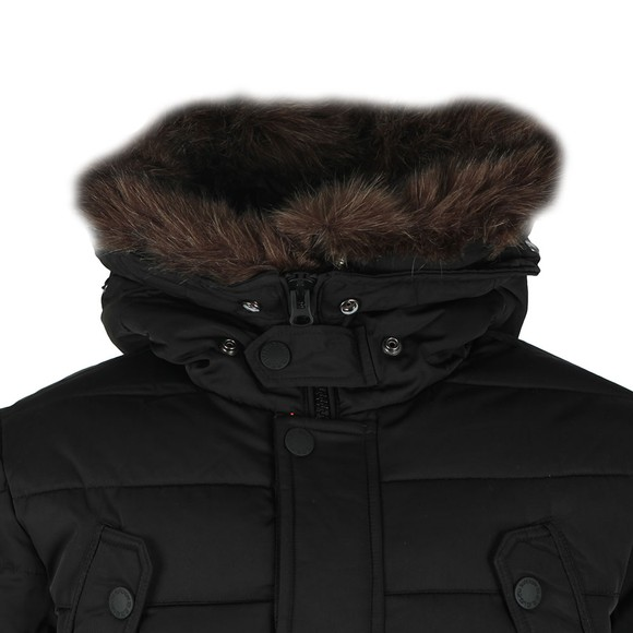 Superdry Mens Black Chinook Parka main image