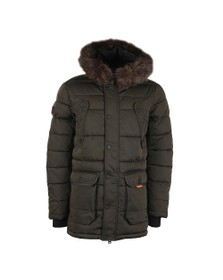 Superdry Mens Green Chinook Parka