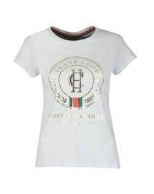 Holland Cooper Womens White Heritage T Shirt