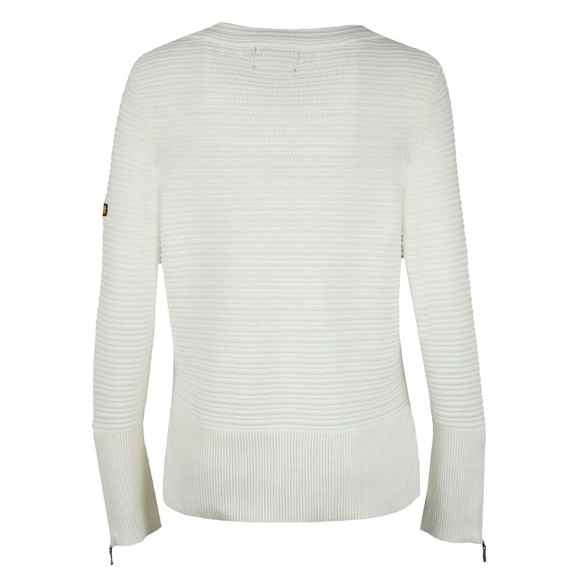 Barbour International Womens Off-White Garrow Knit main image