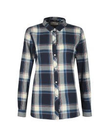 Barbour Lifestyle Womens Blue Tellin Shirt