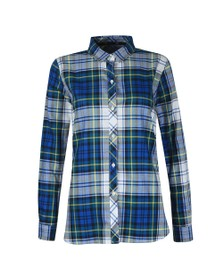 Barbour Lifestyle Womens Blue Stokehold Shirt