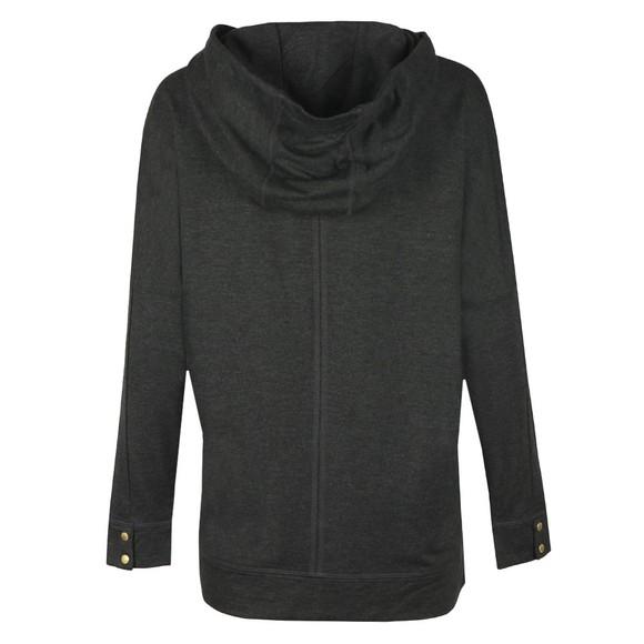 Barbour International Womens Grey Nurburg Overlayer Sweatshirt main image