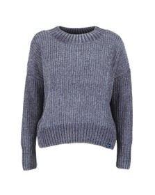 Superdry Womens Blue Suzi Supersoft Slouchy Knit