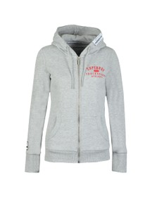 Superdry Womens Grey Track & Field Hoody