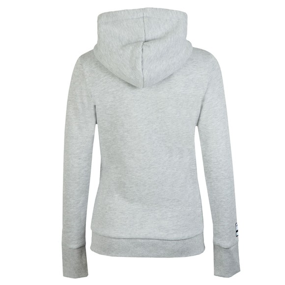 Superdry Womens Grey Track & Field Hoody main image