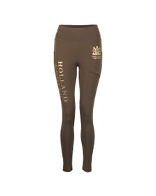 Holland Cooper Womens Green Equi Legging Sport