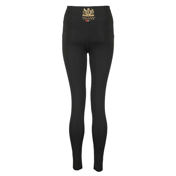 Holland Cooper Womens Black Equi Legging Sport main image