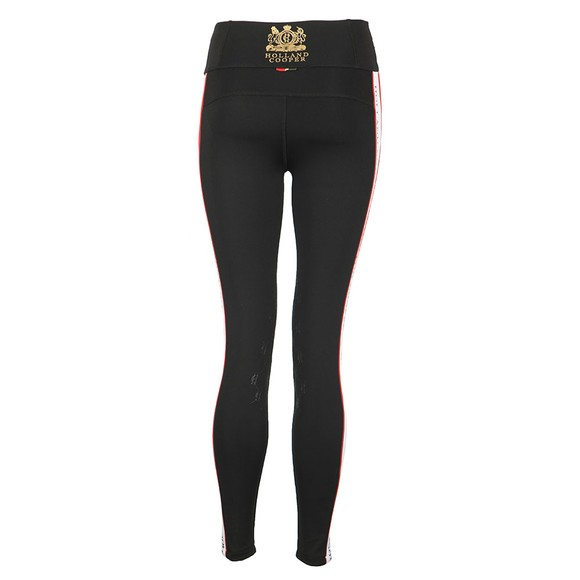 Holland Cooper Womens Black Heritage Equi Legging main image