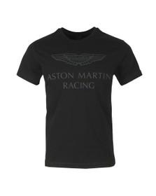 Hackett Mens Black AMR Wings T-Shirt