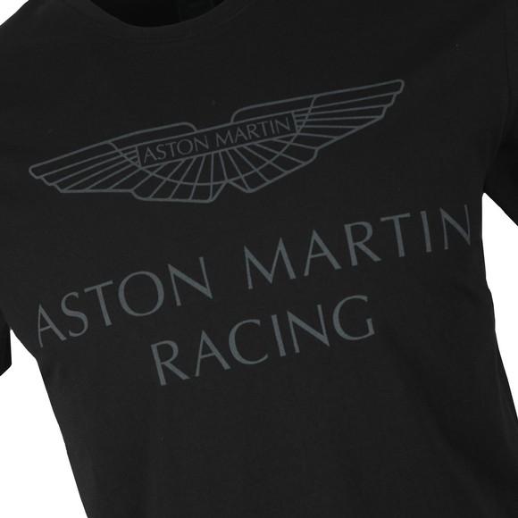 Hackett Mens Black AMR Wings T-Shirt main image