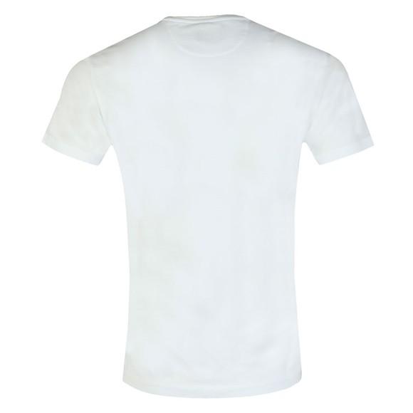 Hackett Mens White Classic Logo T-Shirt main image