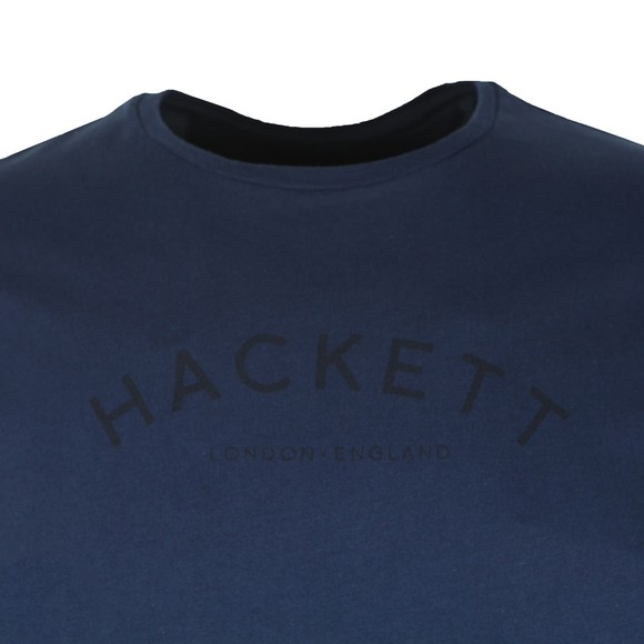 Hackett Mens Blue Classic Logo T-Shirt main image