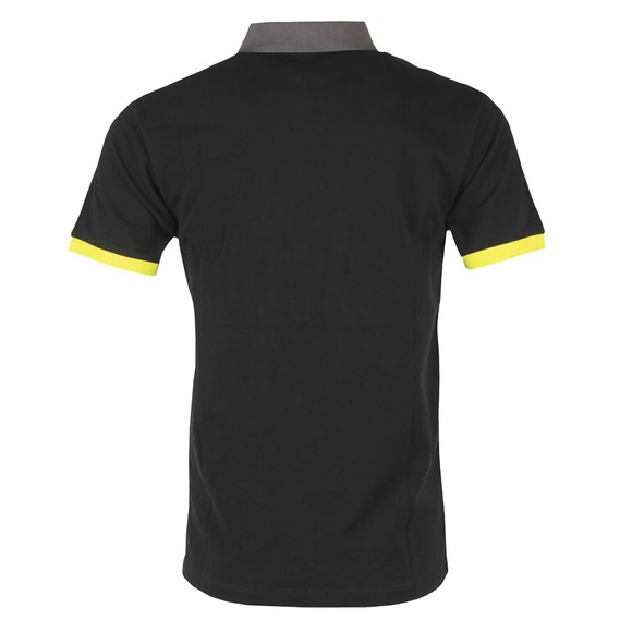 Hackett Mens Black AMR HKT UCLLR Polo Shirt main image