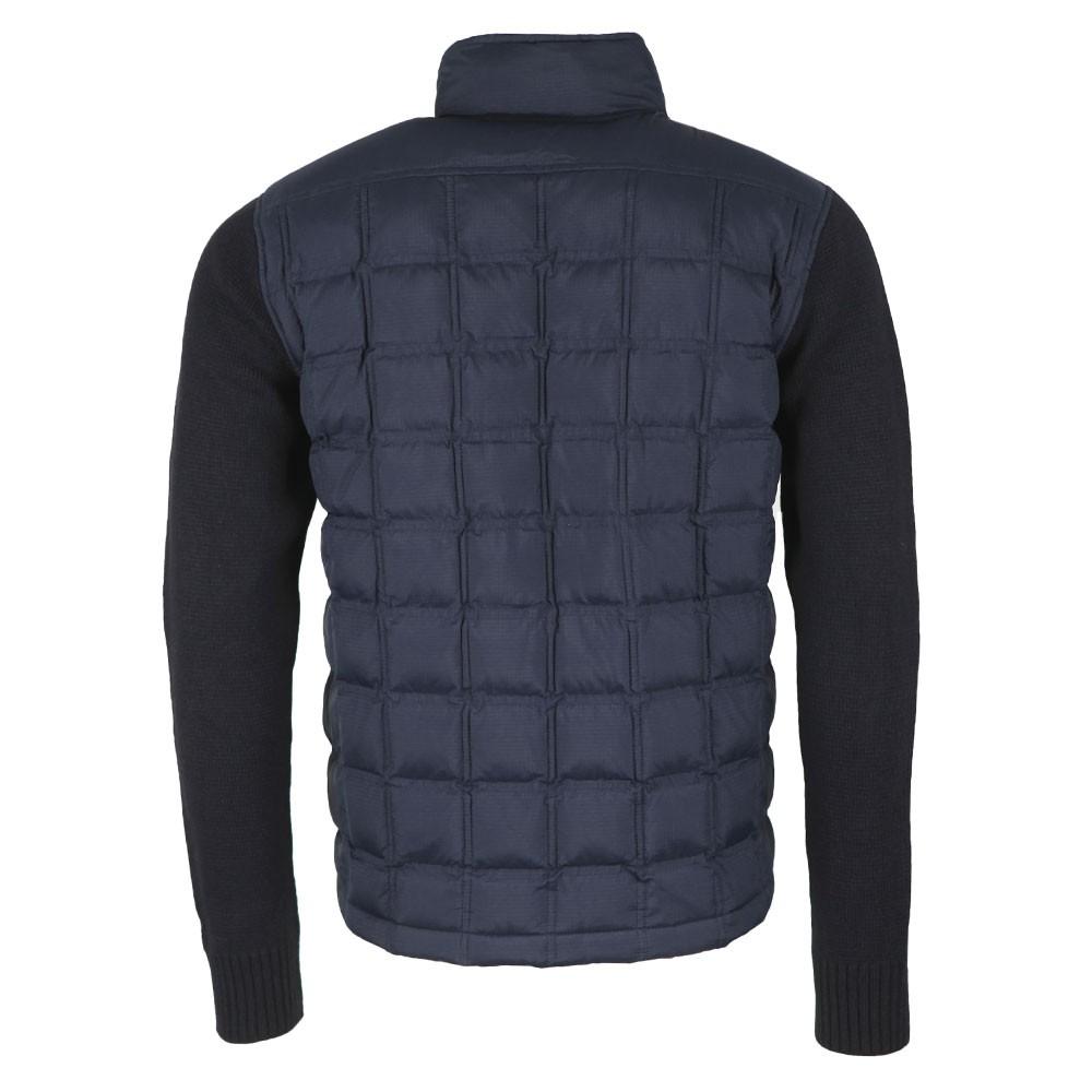 Hybrid Nylon Knit Jacket main image