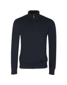 Barbour Lifestyle Mens Blue Gamlin 1/2 Zip Jumper