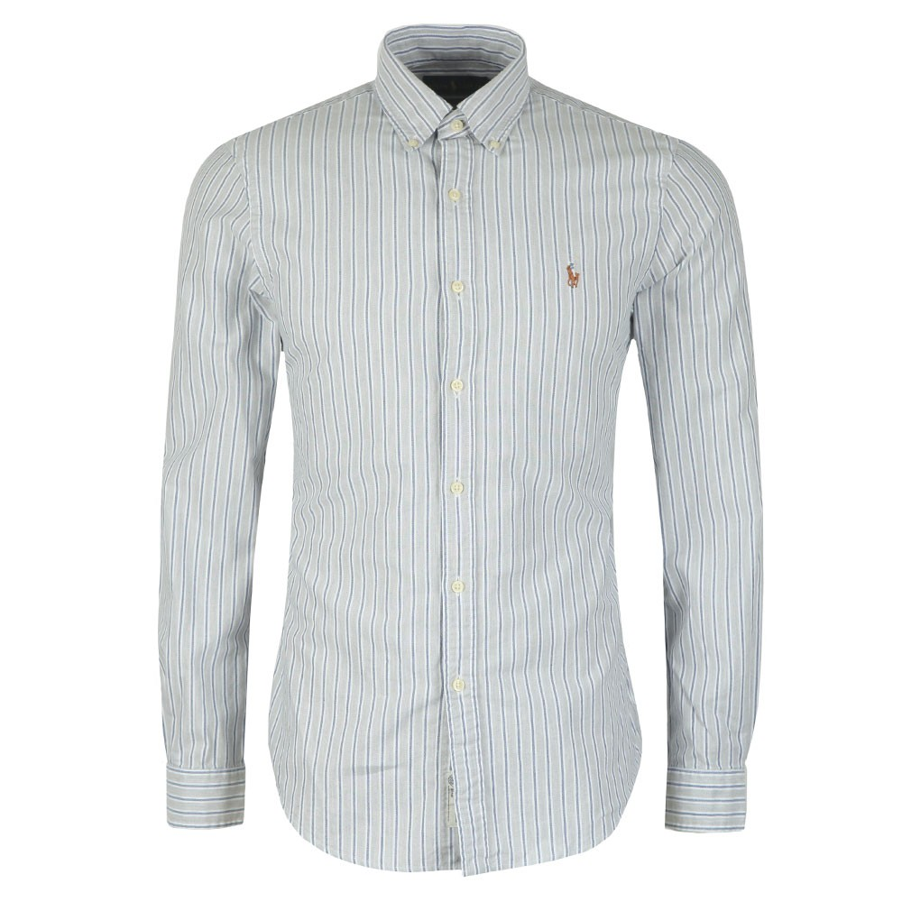 Slim Fit Stripe Shirt main image