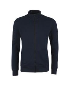 BOSS Casual Mens Blue Zkybox Full Zip Sweatshirt