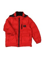 Chest Zip Puffer Jacket