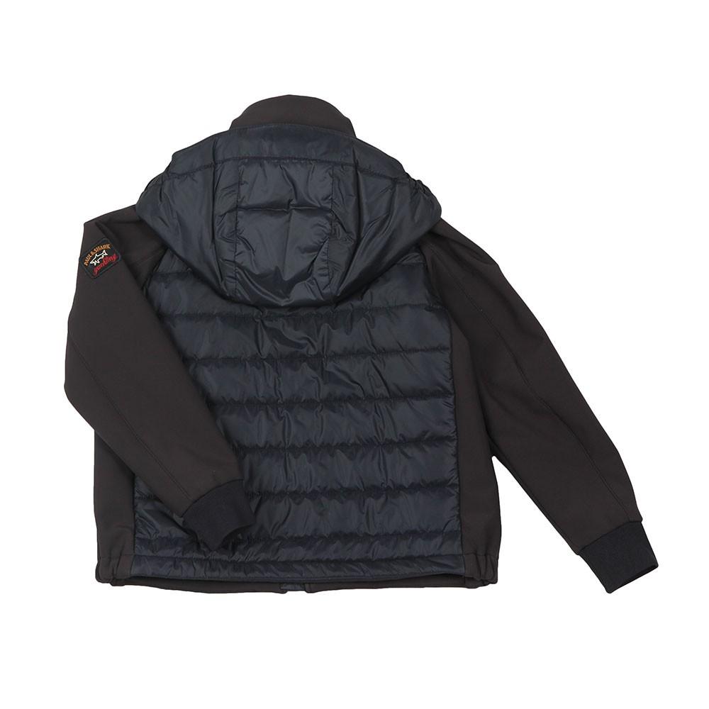 Mixed Fabric Shell Jacket main image