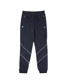 Lyle & Scott x diadora Mens Blue Printed Track Pant