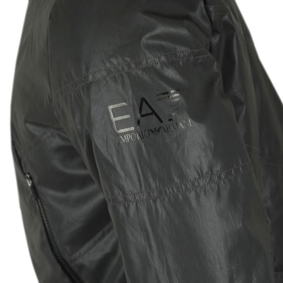 EA7 Emporio Armani Mens Grey Woven Bomber Jacket main image