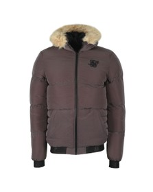 Sik Silk Mens Grey Distance Jacket