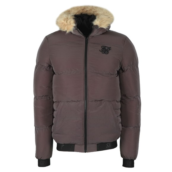 Sik Silk Mens Grey Distance Jacket main image