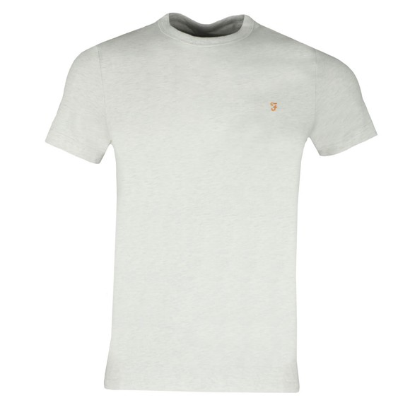 Farah Mens White Dennis T-Shirt main image