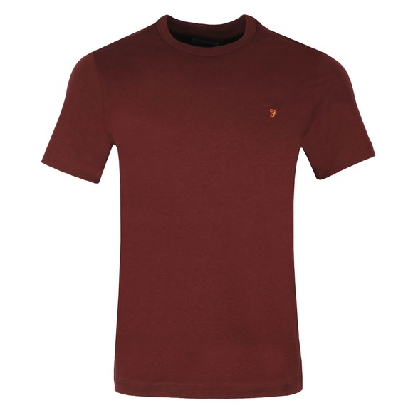 Farah Mens Red Dennis T-Shirt