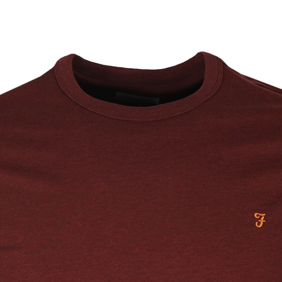 Farah Mens Red Dennis T-Shirt main image