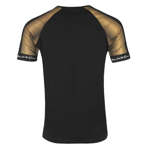 Kings Will Dream Mens Black Geo Sleeve T-Shirt main image