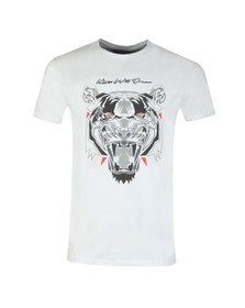 Kings Will Dream Mens White Demon T-Shirt
