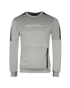 Kings Will Dream Mens Grey Miller Otto PNL Sweat