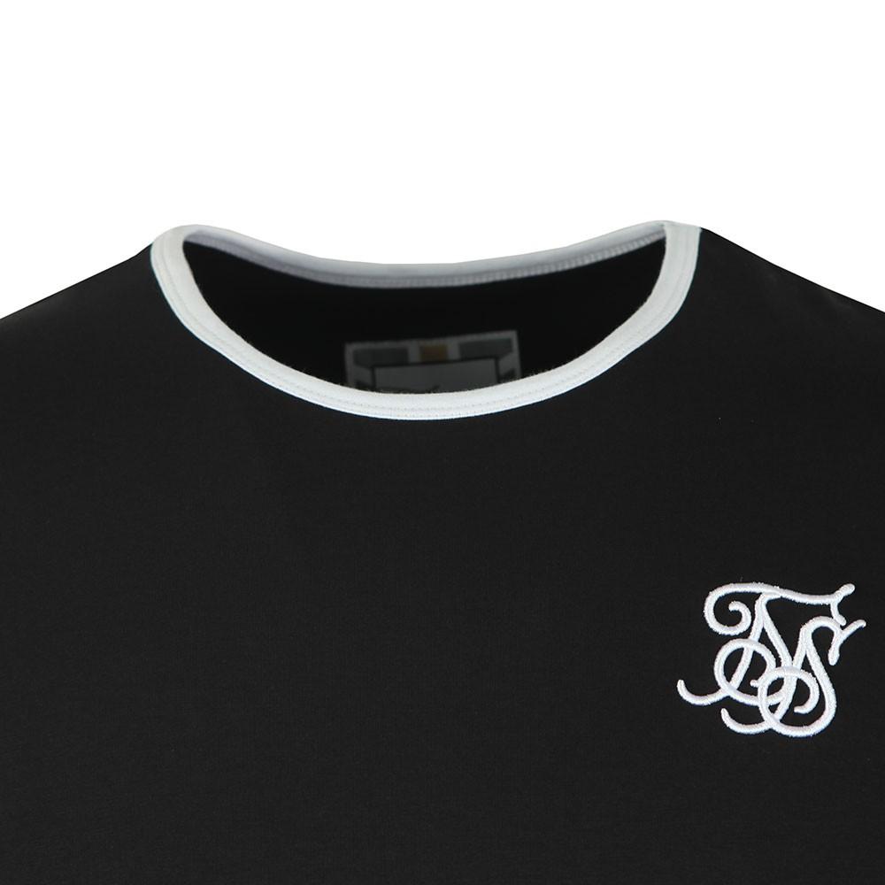Straight Hem Ringer T-Shirt main image