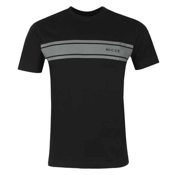 Nicce Mens Black Reflex T-Shirt main image