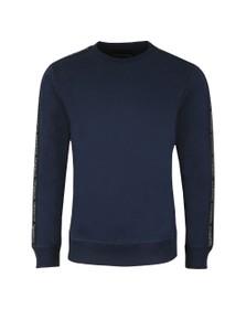 Diesel Mens Blue Tape Willy Sweatshirt