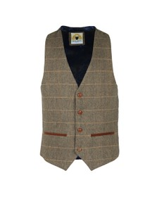 Marc Darcy Mens Brown DX7 Waistcoat