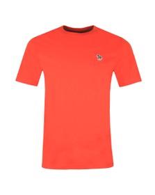 PS Paul Smith Mens Orange Zebra T-Shirt