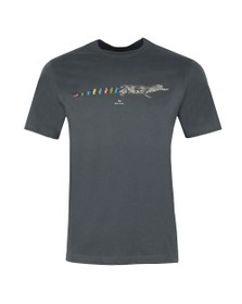 PS Paul Smith Mens Grey Croc T-Shirt