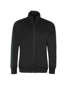 PS Paul Smith Mens Black Zip Track Top