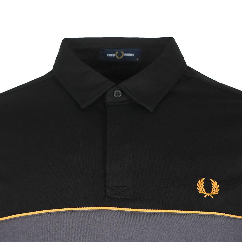 L/S Panel Polo Shirt main image